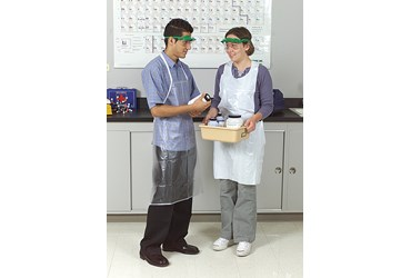 Plastic Laboratory Apron Medium Duty