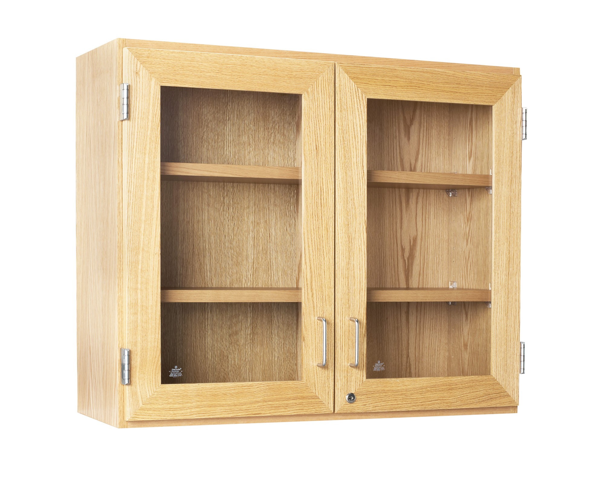 Wall Mounted Storage Cabinet With Glass Doors 36