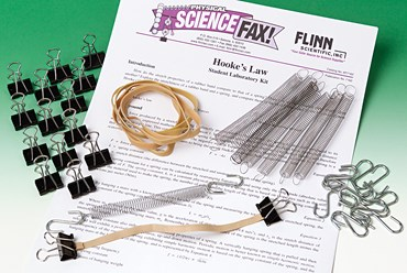 Hooke's Law Physical Science and Physics Laboratory Kit