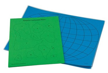 Pangaea and Plate Tectonics Classroom Activity Kit for Earth Science and Geology