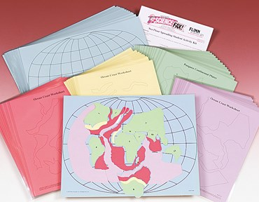 Sea Floor Spreading and Plate Tectonics Classroom Activity Kit for Earth Science and Geology