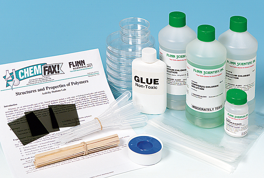 Structure and Properties of Polymers—Activity-Stations Kit