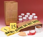 Crime Scene Evidence Numbers for Forensics