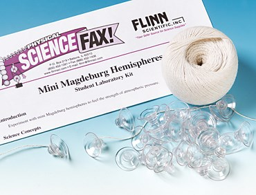 Mini Magdeburg Hemispheres Physical Science and Physics Laboratory Kit