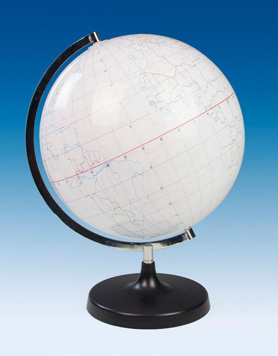 Write-On Dry Erase Globe