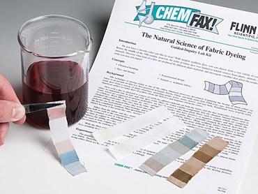 The Natural Science of Fabric Dyeing Guided-Inquiry Laboratory Kit for Chemistry