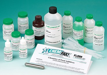 Chemistry of Food Additives Chemical Demonstration Kit