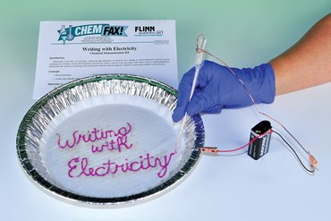 Writing with Electricity Oxidation-Reduction Chemical Demonstration Kit