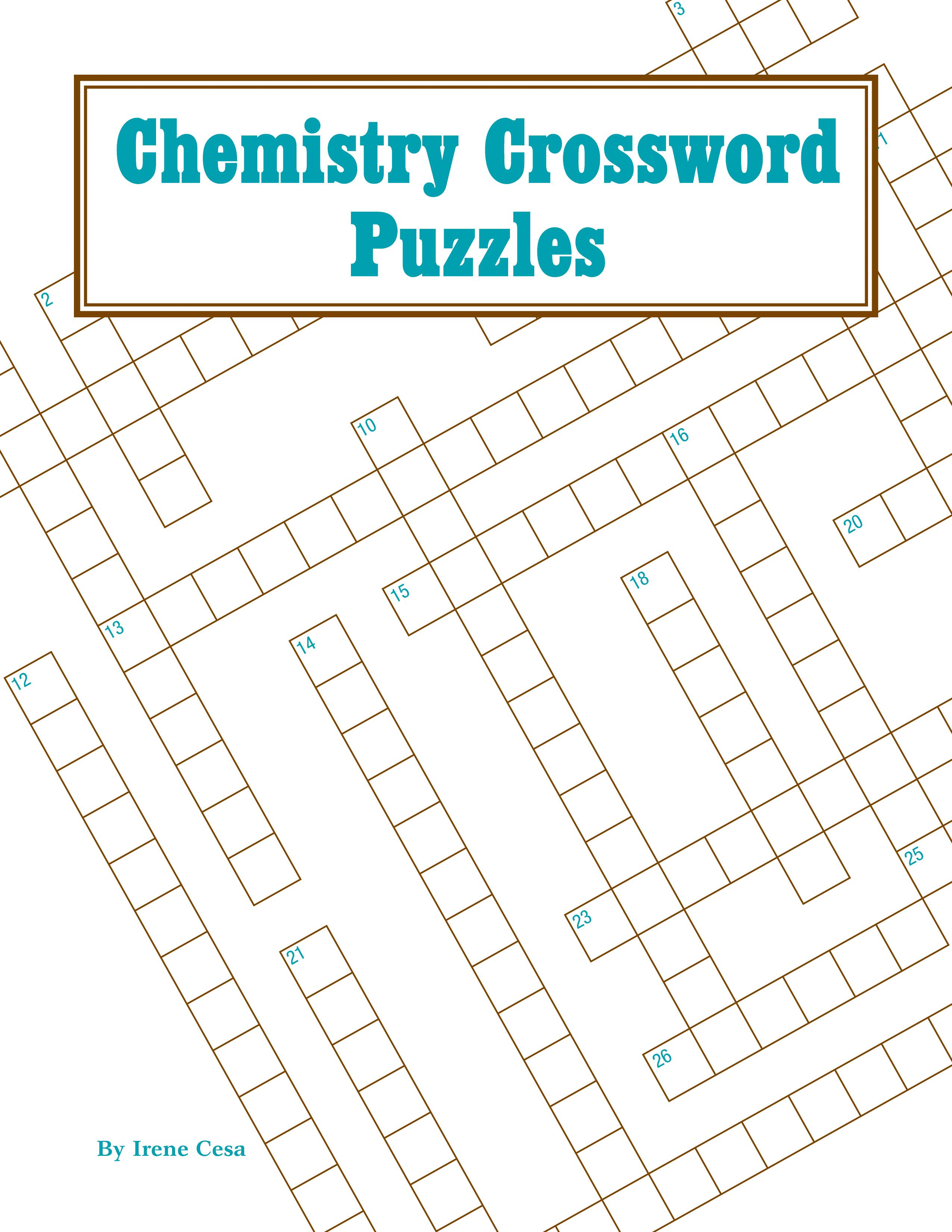 Chemistry Crossword Puzzles