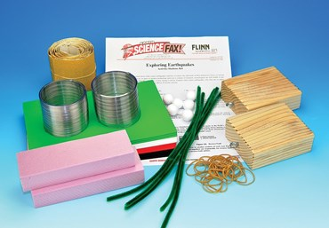Exploring Earthquakes Activity-Stations Laboratory Kit for Earth Science