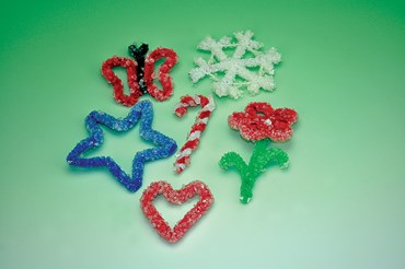 Crystal Ornaments Holiday Chemistry Laboratory Kit