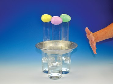 Diving Eggs Inertia Challenge and Newton's First Law Physical Science and Physics Demonstration Kit