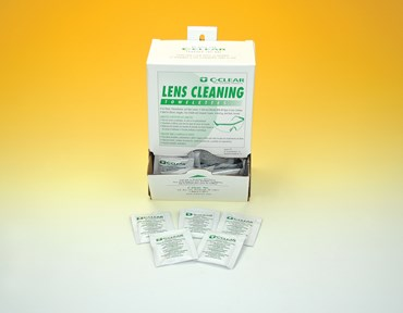 Lens Cleaning Towelettes for Goggles and Safety Glasses