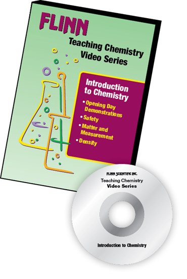 Flinn's Teaching Chemistry Video Series DVD Set Introduction to Chemistry