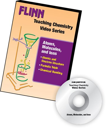 Flinn's Teaching Chemistry Video Series DVD Set Atoms, Molecules and Ions
