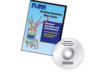 Flinn's Teaching Chemistry Video Series DVD Set Chemical Reactions and Stoichiometry
