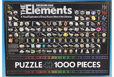 The Elements Periodic Table Jigsaw Puzzle