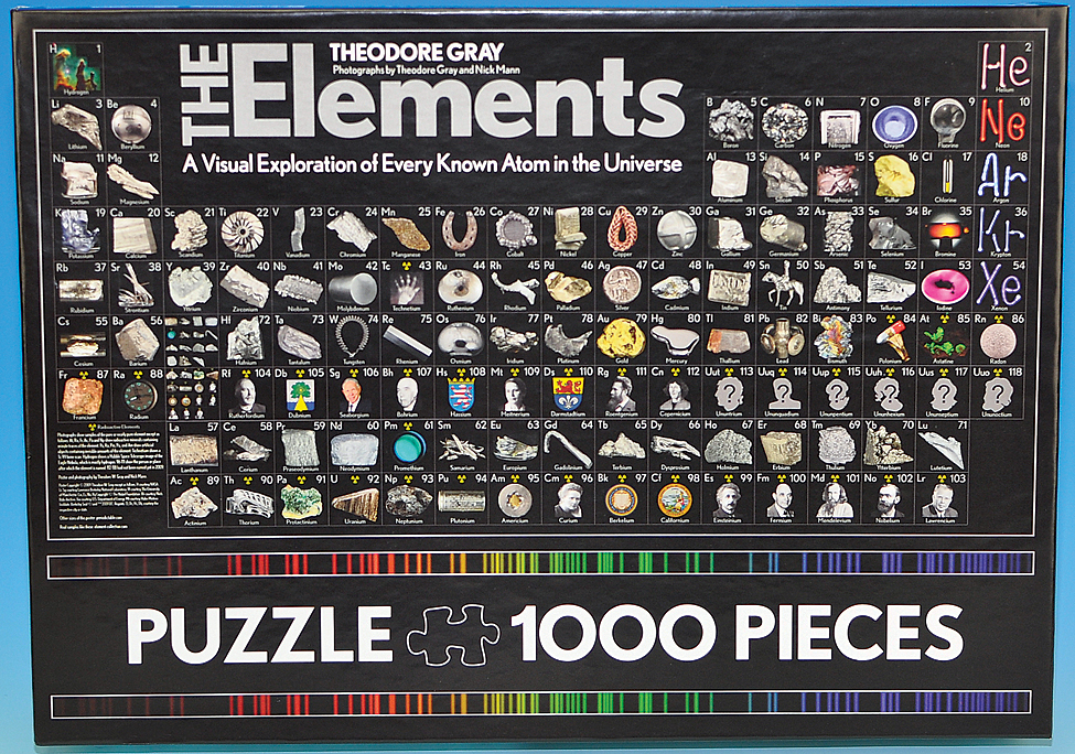 Periodic table jigsaw puzzle urtaz Image collections