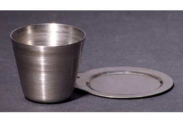 Stainless Steel Crucible with Cover