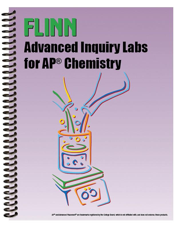 Flinn Scientific Advanced Inquiry Labs for AP® Chemistry Lab Manual