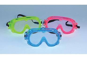 Economy Choice Chemical Splash Lab Safety PPE Chemical Splash Goggles, Pink