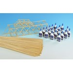 Balsa Bridge Construction Set for Physical Science and Physics