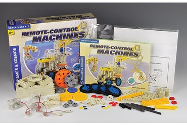 Remote Control Machines and Robotics Kit for Physical Science and Physics