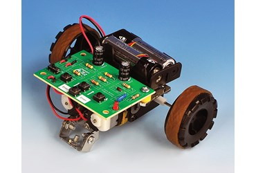 Push-Button Programmable Robot for Physical Science and Physics