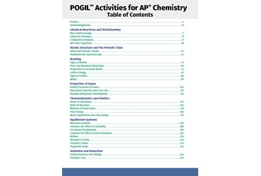 POGIL, Flinn Scientific, Ap chemistry, AP chem