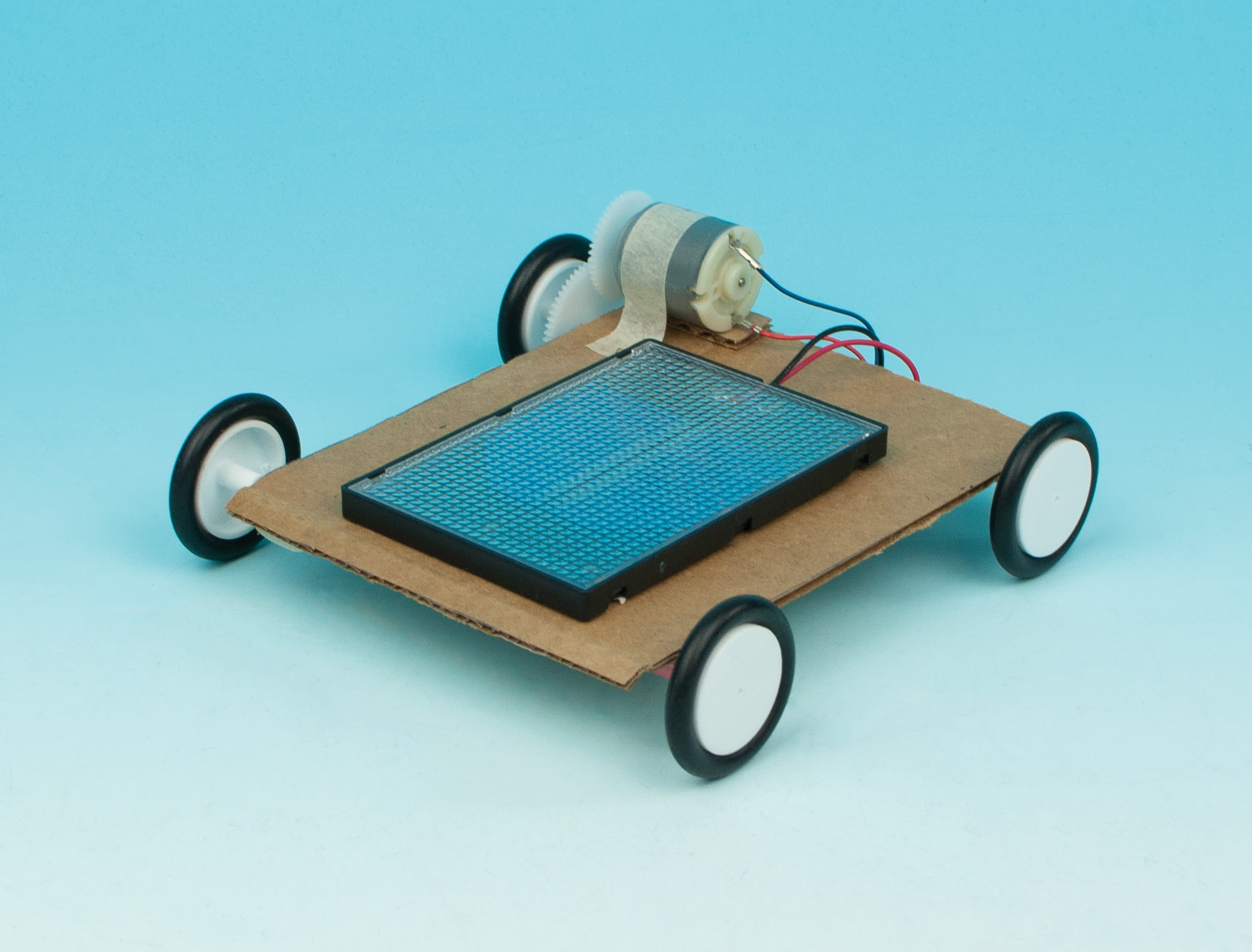 Solar Powered Cars Flinn Stem Design Challenge