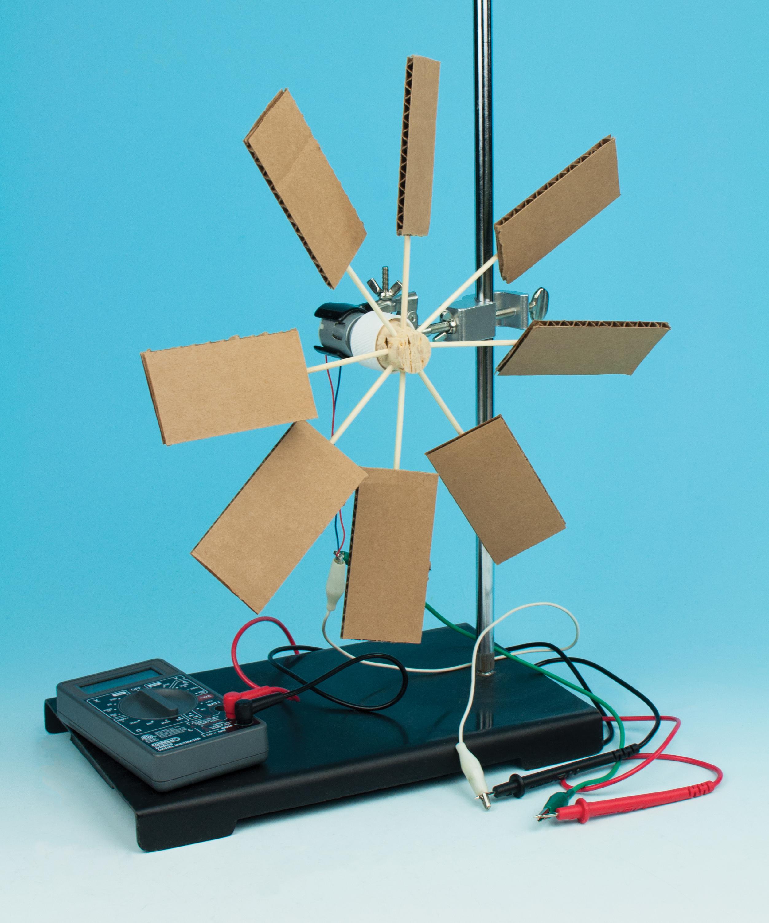 Generating Electricity with Wind Flinn STEM Design Challenge™