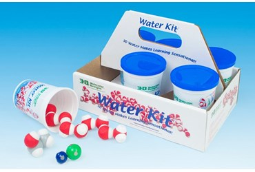 water molecules, water molecules kit, model molecular model