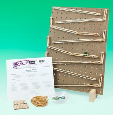 Marble Down Flinn STEM Design Challenge™ Kit for Physics and Physical Science