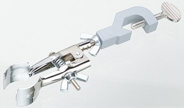 Single Buret Clamp with Plastic-Coated Jaw