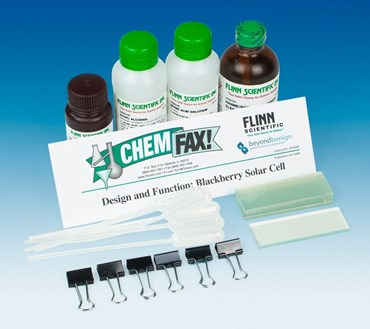 Design and Function of a Blackberry Solar Cell Green Chemistry Laboratory Kit
