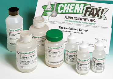 The Designated Driver Chemical Demonstration Kit