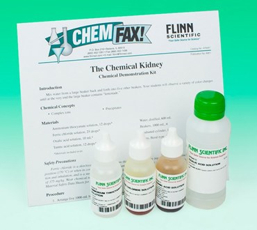 The Chemical Kidney Chemical Demonstration Kit