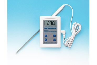 Flinn Digital Thermometer with Extension Probe