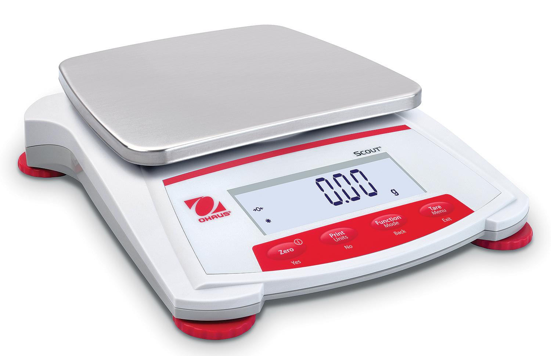 Ohaus Scout® SKX Electronic Balance, 220 g x 0.01 g for Balance Laboratory Apparatus  165jwn