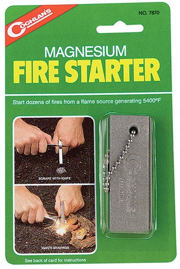 Magnesium Fire Starter Thermodynamics Demonstration