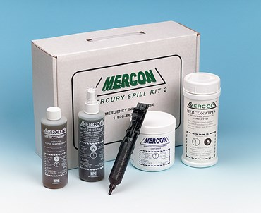 Merconwipes™ for Mercury Spill Clean Up