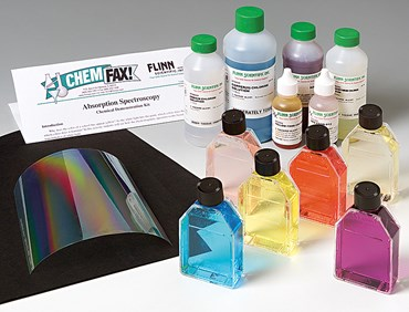 Absorption Spectroscopy Chemical Demonstration Kit