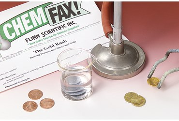 The Gold Rush Oxidation–Reduction Chemical Demonstration Kit