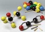 "Replacement Large Wood Bonds for Wooden 1"" Molecular Model Set"
