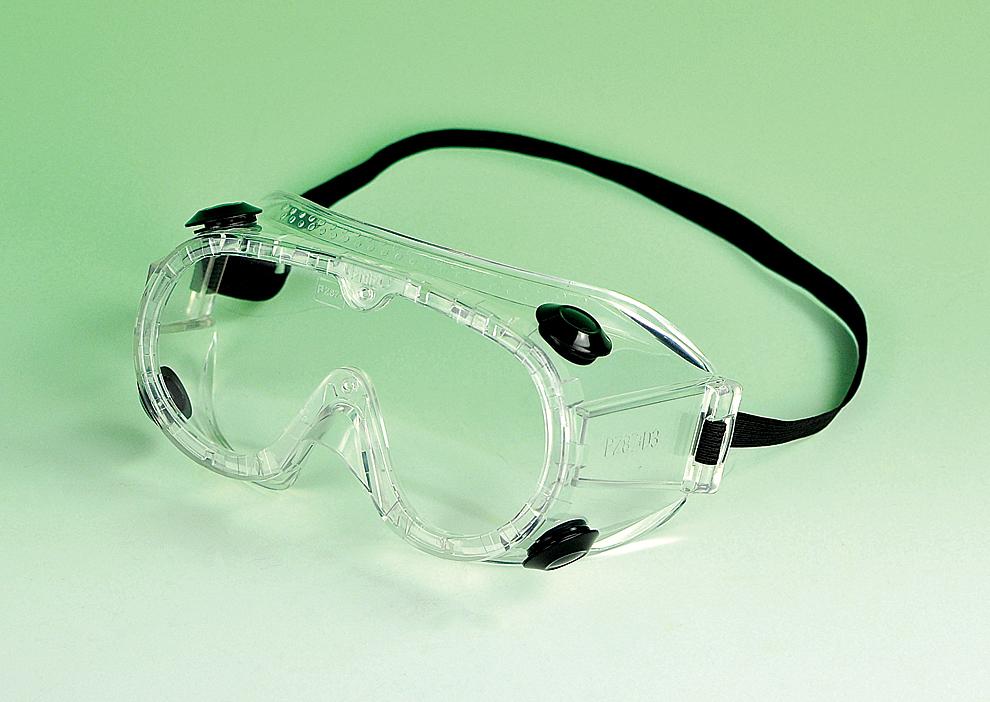 goggles chemical splash economy choice fog free lens