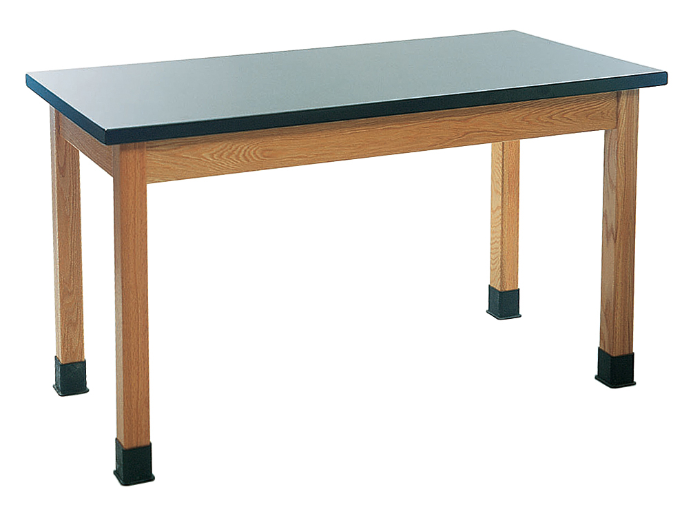 "Student Lab Table, Chemical Resistant Laminate, 24"" x 60 ..."