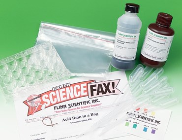 Acid Rain in a Bag Earth Science Demonstration Kit