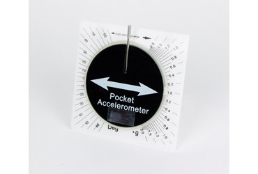 Pocket Accelerometer for Physical Science and Physics