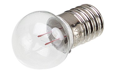 Miniature Light Bulb, 1.2 V and 0.22 A
