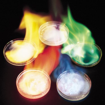 Oooh! Aaah! Style Flame Tests Chemical Demonstration Kit